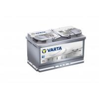 VARTA START-STOP PLUS   (AGM) 80Ah normál jobb+ AGM Akkumulátor VARTA