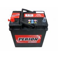 Perion ASIA 35Ah 300A vékony bal+ SZEMÉLY JAPÁN Akkumulátor PERION