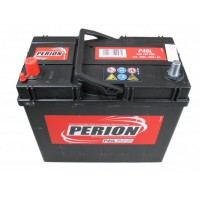 Perion ASIA 45Ah 330A vékony bal+ SZEMÉLY JAPÁN Akkumulátor PERION