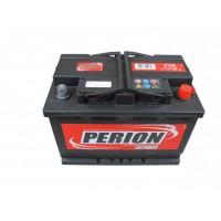 Perion 74Ah 680A normál jobb+ SZEMÉLY EURÓPAI Akkumulátor PERION