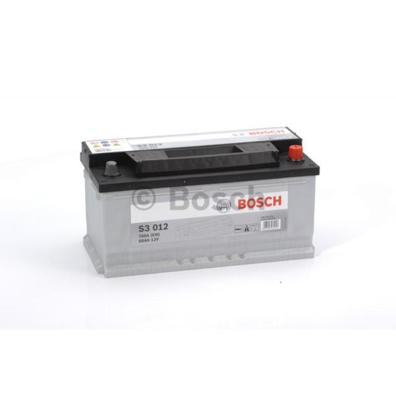 BOSCH S3 Black 88Ah 740A jobb+