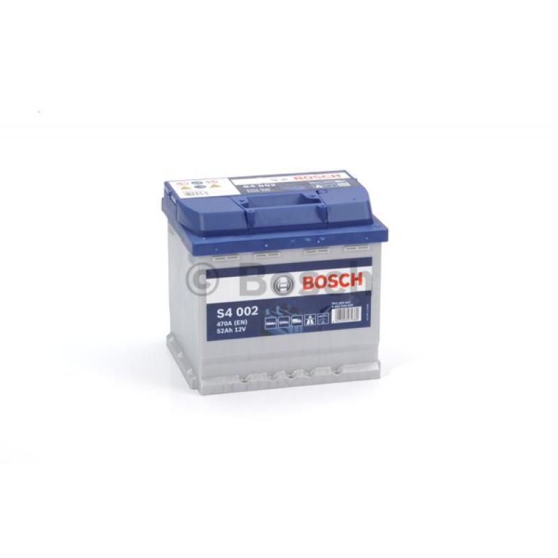 BOSCH S4 Blue 52Ah 470A jobb+