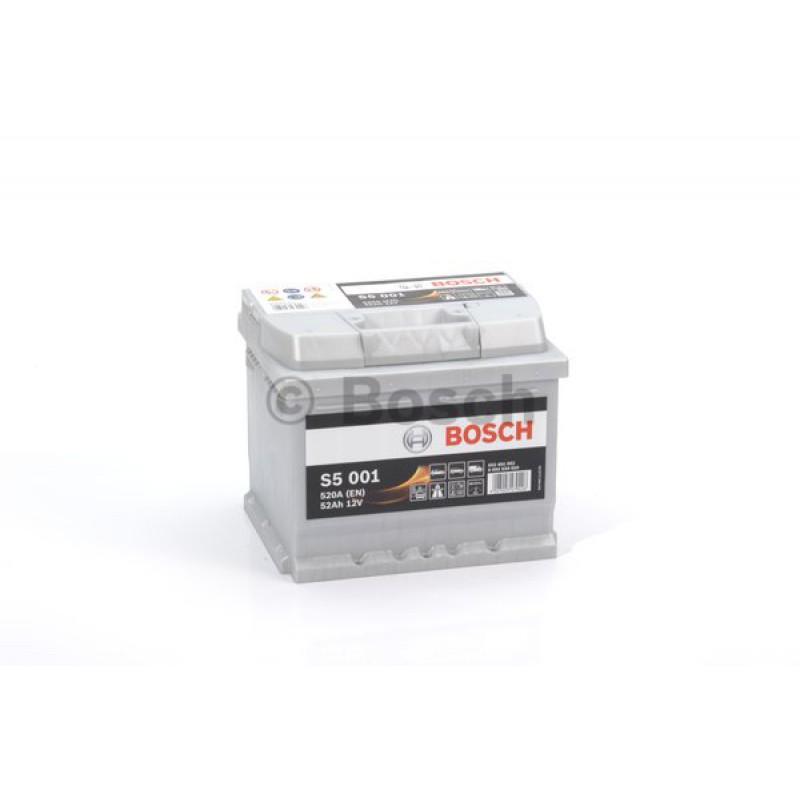 BOSCH S5 Silver 52Ah 520A jobb+