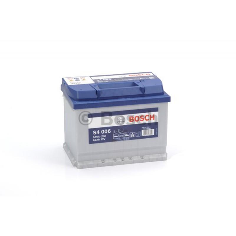BOSCH S4 Blue 60Ah 540A bal+