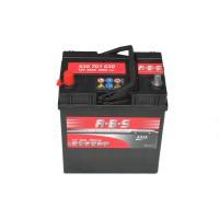 ABS ASIA 35Ah 300A vékony bal+ Akkumulátorok Akkumulátor ABS
