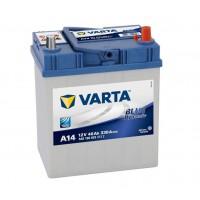 VARTA Blue ASIA 40Ah 330A vékony jobb+ VARTA Akkumulátor VARTA