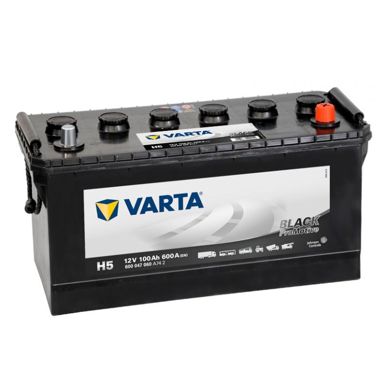 VARTA Promotive Black 100Ah 600A jobb+